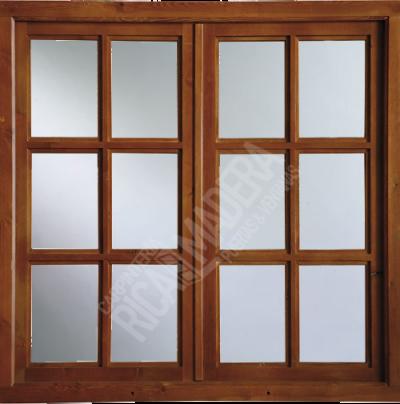 ventana ricalmadera